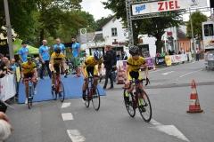 Start Mannschaftszeitfahren U15 männlich