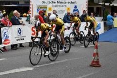 Start Mannschaftszeitfahren U17 männlich