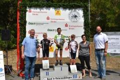 Siegerehrung U11 männlich;, Gerrit  belegte den 1. Platz