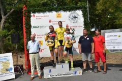Siegerehrung U15 weiblich, Miriam Platz 1; Emma Platz 2