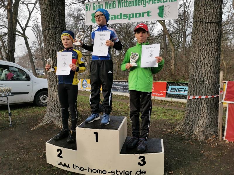 Siegerehrung Crosslauf U13 männlich