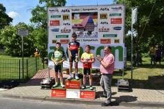 Siegerehrung  U13m; Maurice 1. Platz