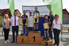 05. Siegerehrung U11 männlich, Onno Platz 1, Gerrit Platz 2, Gustav Platz 3