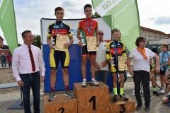 08.Siegerherung U15 männlich, Lars Platz 2, Lennert Platz 3