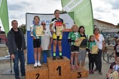 12)Gesamtsiegerehrung NWC U11w, Lisa Platz 1, Edda Platz 3