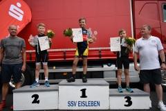Siegerehrung U11 männlich, Gerrit belegte Platz 1