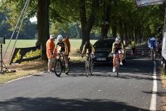 Start Mannschaftszeitfahren U15w