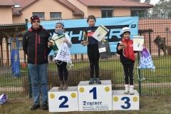 Siegerehrung U11 weiblich, 1. Platz Edda Bieberle
