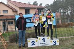 Siegerehrung U15 weiblich, 3. Platz Miriam Tschepe