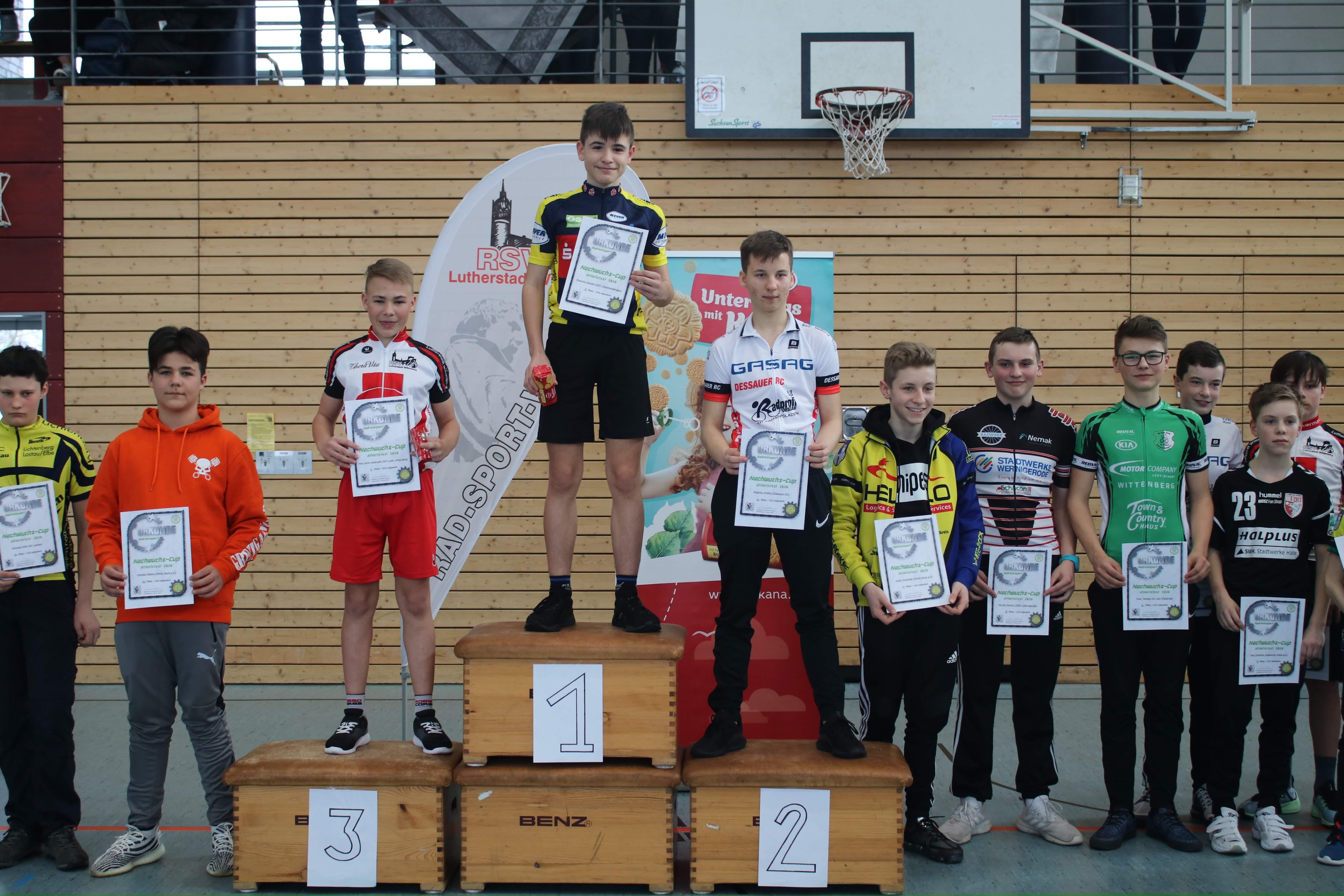 Sieger U15 männlich: Maurice Steckel