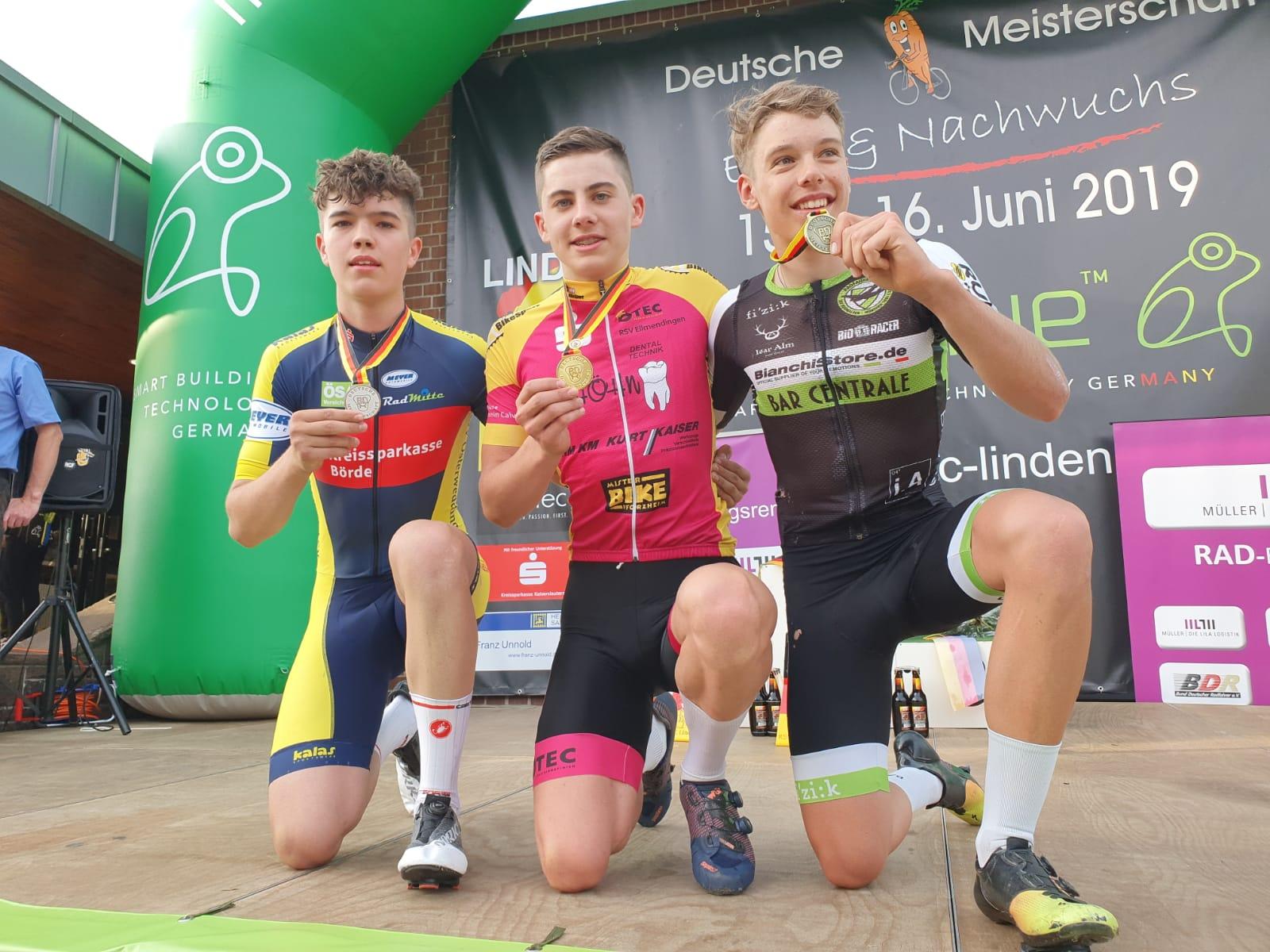 Moritz belegt Platz zwei
