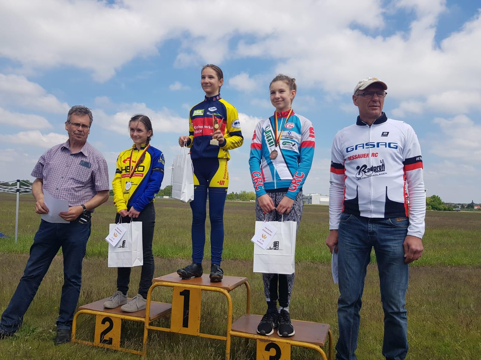 Siegerin U15w: Tina Rücker