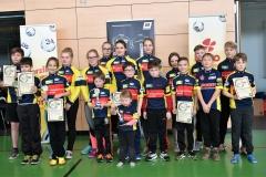 Unsere jungen Radsportler