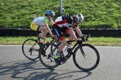 Rennen U15 Ausreißergruppe mit Miriam
