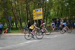 Maria im Strassenrennen in Münchenbernsdorf in der U13w