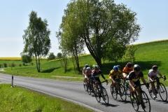 Luzie im Strassenrennen in Münchenbernsdorf in der U15w