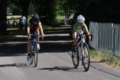 Edda und Finn im Rennen der U11