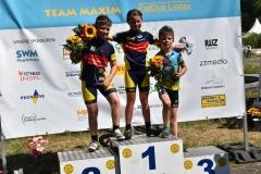 Siegerehrung U11, Edda Platz 1, Finn Platz 2