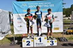 Siegerehrung U13, Maurice Platz 2
