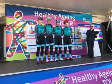 Teamvorstellung bei der Healthy Ageing Tour 2018