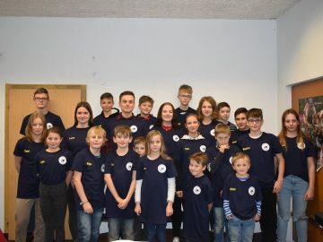 Gruppenbild Sportler U9 bis U19